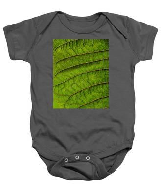 Poinsettia Leaf II Baby Onesie