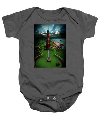The Sound Of Silence Baby Onesie
