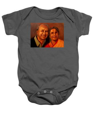 Uncle And Aunt Baby Onesie
