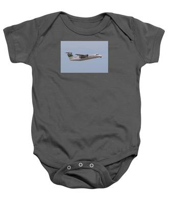 Baby Onesie featuring the photograph Bahamas Air by Dart and Suze Humeston