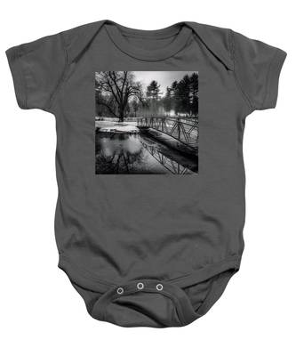 Fade To Black Baby Onesie