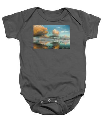 Sound Of Silence Baby Onesie
