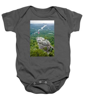 Lake Lure And Chimney Rock Landscapes Baby Onesie