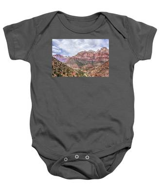 Zion Canyon National Park Utah Baby Onesie
