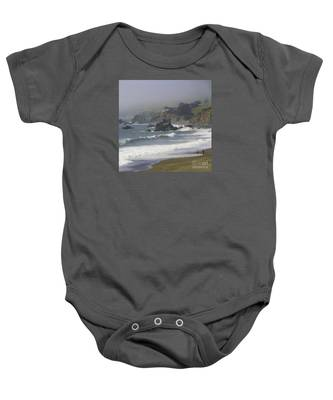 Along The Pacific #2 Baby Onesie
