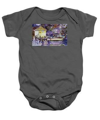 At Boat House 3 Baby Onesie