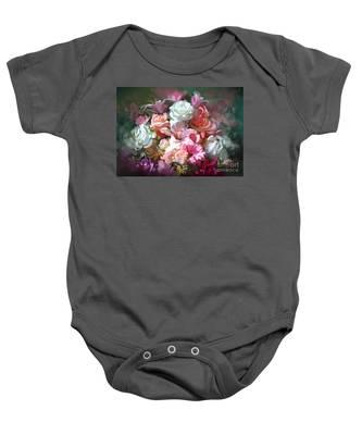 Bunch Of Roses Baby Onesie