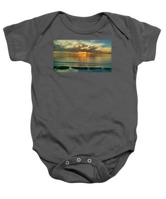Carlsbad Beach  Baby Onesie