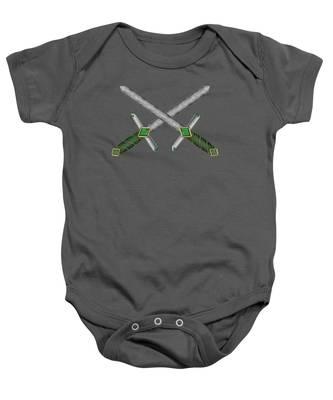 Celtic Daggers Baby Onesie