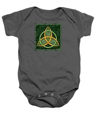 Celtic Trinity Knot Baby Onesie