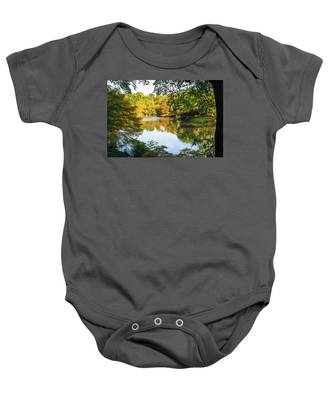 Central Park - City Nature Park Baby Onesie