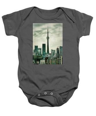 Cn Tower Baby Onesie