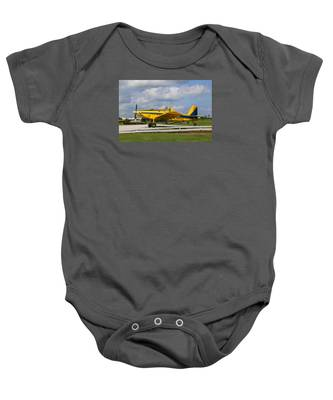 Baby Onesie featuring the photograph Crop Duster by Dart and Suze Humeston