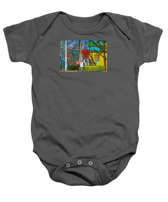 Cuban Street Art Baby Onesie by Dart and Suze Humeston
