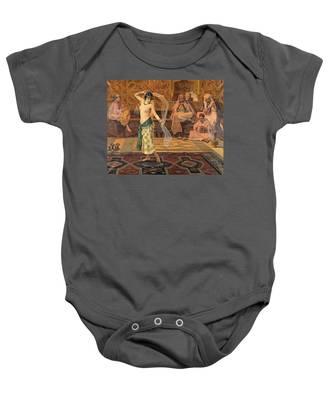 Dance Of The Seven Veils Baby Onesie