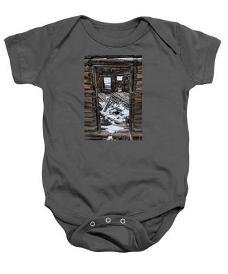 Doorway To The Past Baby Onesie