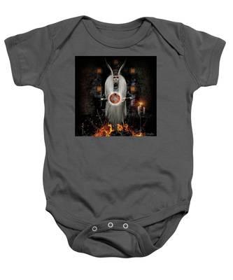 Flame Magick Baby Onesie