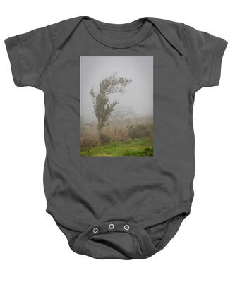 Fog And Wind Baby Onesie