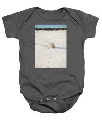 Footprints In The Snow II Baby Onesie