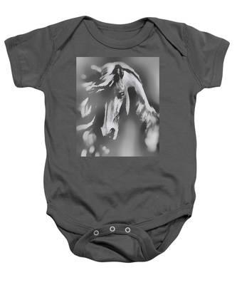 Ghost Horse Baby Onesie