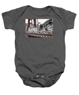 Golden Gate Bridge Street View Baby Onesie