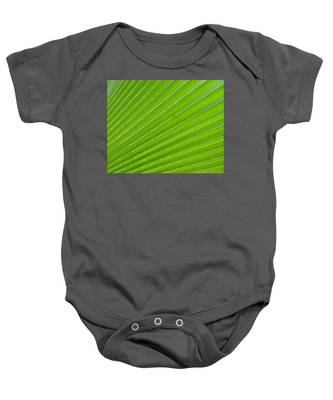 Green Abstract No. 1 Baby Onesie