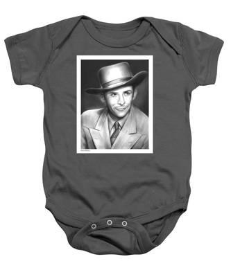 Hank Williams Baby Onesie