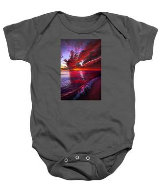 I Wake As A Child To See The World Begin Baby Onesie