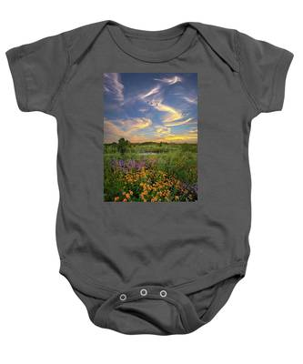It's Time To Relax Baby Onesie