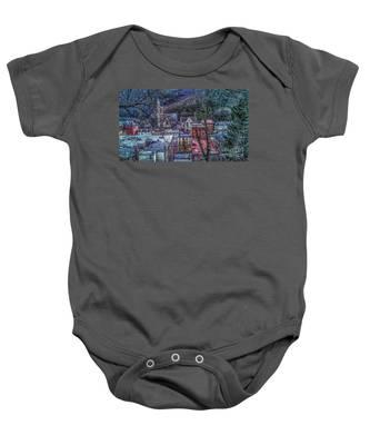Jim Thorpe Pennsylvania In Winter #1 Baby Onesie