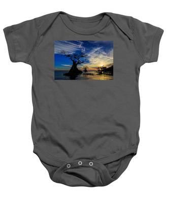 Lake Disston Sunset Baby Onesie