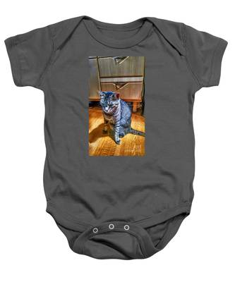 Le Chat Gris Baby Onesie