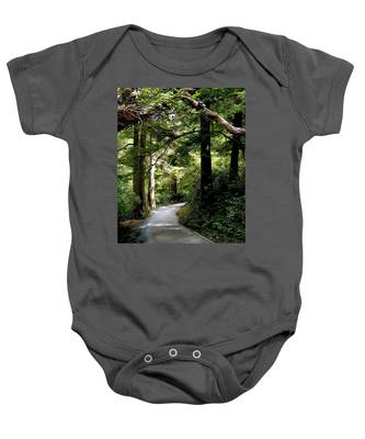 Life's Pathway Baby Onesie