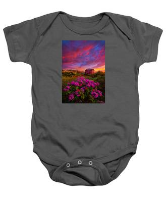 Live In The Moment Baby Onesie