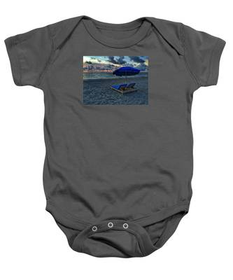 Lounging By The Sea Baby Onesie