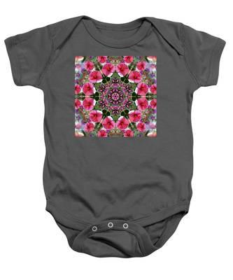 Mandala Pink Patron Baby Onesie