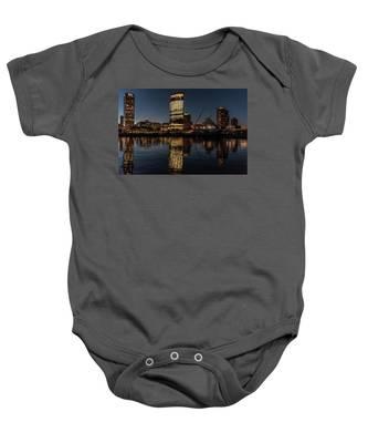 Milwaukee Reflections Baby Onesie