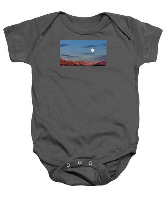 Moonrise With Afterglow Baby Onesie