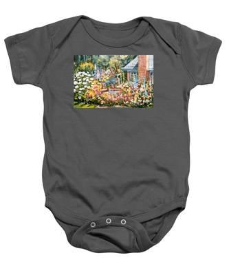Moore's Garden Baby Onesie