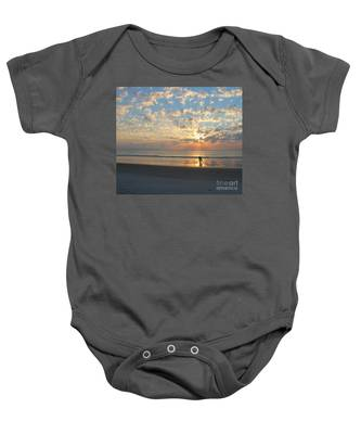 Morning Run Baby Onesie