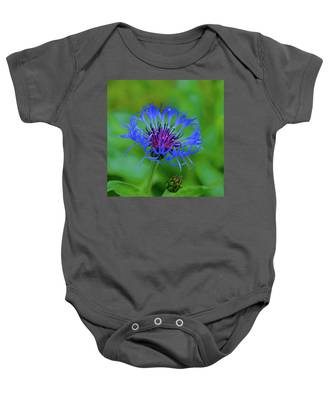 Mountain Cornflower Baby Onesie