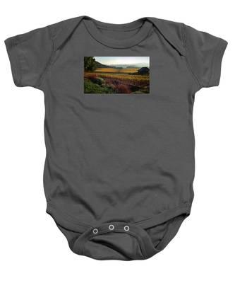 Napa Valley California Baby Onesie