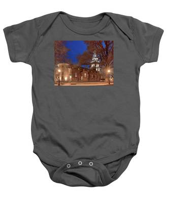 Night Lights St Anne's In The Circle Baby Onesie