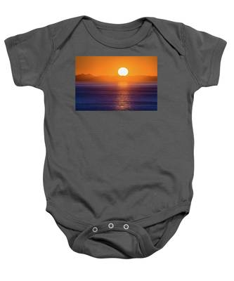 Oregon Sunset Baby Onesie
