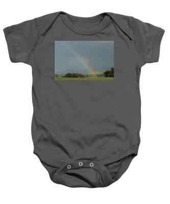 Rainbow On Valhalla Dr. Baby Onesie