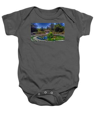 Reflecting Pool At Colonial Park Baby Onesie