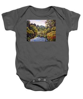 Richard's Pond Baby Onesie