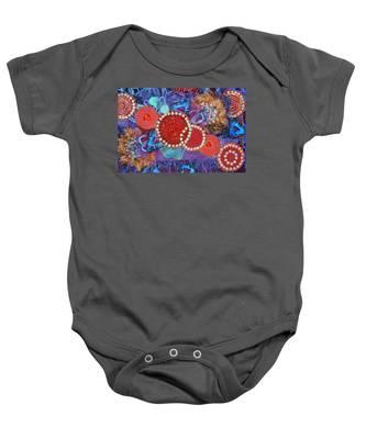Ruby Slippers 1 Baby Onesie