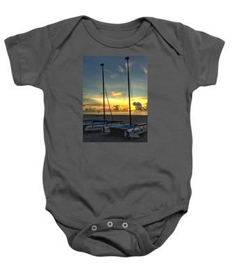 Sailing Vessels  Baby Onesie