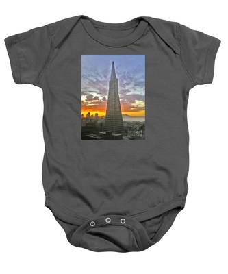 San Francisco Pyramid Baby Onesie
